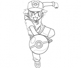 ash on pokemon
