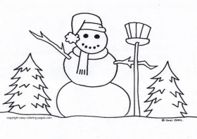 Snowflake Coloring Page - Coloring For KidsColoring For Kids