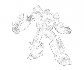 Transformers Fall of Cybertron Warpath Profil | Surfing