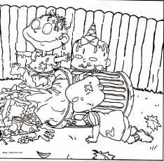 Free Printable Rugrats Coloring Pages (; | Everything Rugrats and