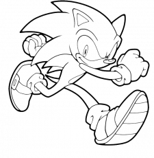 sonic x coloring pages