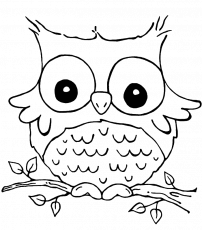 Son Of Funny Grieving Owl Coloring Pages - Owl Coloring Pages