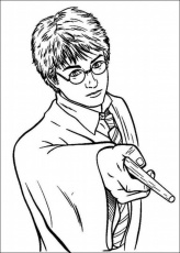 Harry Potter Printable Coloring Pages #22 | Extra Coloring Page