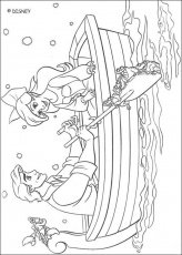 Disney The Little Mermaid Coloring Pages #15 | Disney Coloring Pages