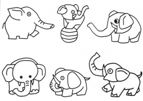 Animal Coloring Jungle Animals Coloring Pages For Kids