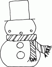 Download Children Coloring Pages Winter Snowman Or Print Children