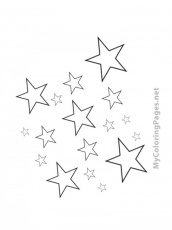 little twin stars coloring pages