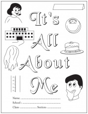 It is all about me-An activity book for beginning readers