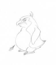Angry Penguin by satanen on deviantART