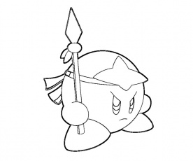 17 Kirby Coloring Page