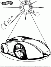 Hotwheels coloring pages in the Coloring Library