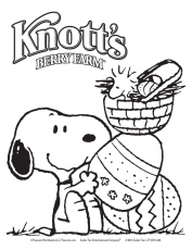 Snoopy Easter Coloring Pages Images & Pictures - Becuo