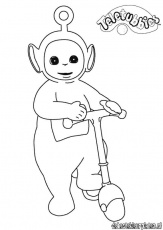 Teletubbies17 - Printable coloring pages