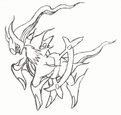 arceus coloring pages - pokemon arceus coloring page coloring home