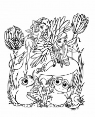 Free Coloring Pages for All