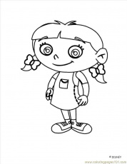 Coloring Pages Little Einstein (17) (Cartoons > Little Einsteins