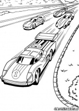 Hotwheels14 - Printable coloring pages
