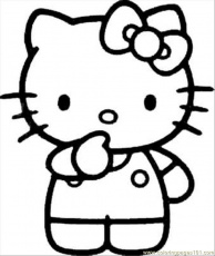 Coloring Pages Kitty(25) (Cartoons > Hello Kitty) - free printable