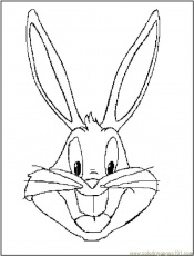 Coloring Pages Bugs Bunny Coloring Pages
