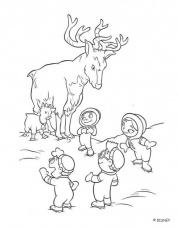 LITTLE EINSTEINS Coloring Pages Deer And Little Einsteins 98690