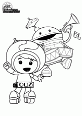 Team Umizoomi Colouring Pages Page 2 Coloring Home