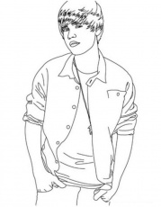 Justin Justin Bieber Colouring Pages Coloring Home Justin Bieber Coloring Pages