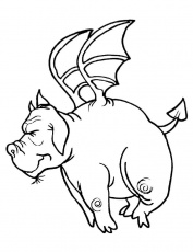 Dragon Coloring Pages For Kids 160 | Free Printable Coloring Pages