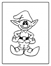 Christmas Coloring Pages (6) | Coloring Kids
