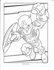 marvel super hero squad coloring pages