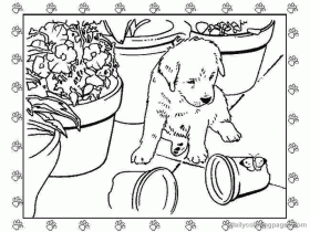 Puppy World: Printable Puppy Pictures