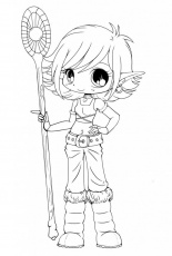 Chibi-Anime-Coloring-Pages-721×1024 | COLORING WS