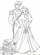 Coloring Pages Christmas Coloring Princess (Holidays > Christmas