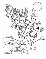 Christmas Coloring Pages | Top Coloring Pages