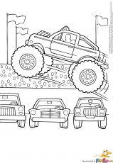 7 Pics of Monster Jam Coloring Pages - Monster Truck Coloring ...