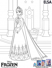 Free Disney Frozen Coloring Sheets and Activities - I Am a Mommy Nerd