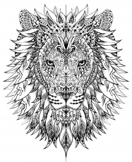Animal - Coloring Pages for adults - Page 5