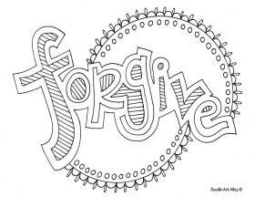 Forgive coloring pages