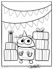 StoryBots Coloring Pages to Print (Page 1) - Line.17QQ.com