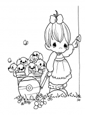 Autumn Precious Moments Coloring Pages - Coloring Pages For All Ages