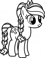 Cute Printable My Little Pony Coloring Pages
