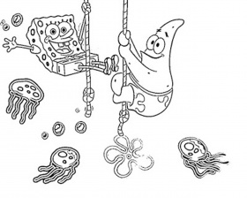 Spongebob Squarepants Spongebob Speech Coloring Page Spongebob ...