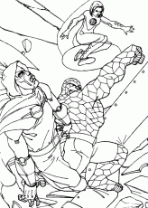 Doctor doom blasted coloring pages ...hellokids.com