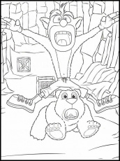 Crash Bandicoot Coloring Pages - Best Coloring Pages For Kids