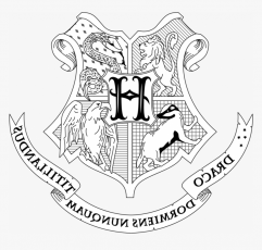 Interesting Harry Potter Coloring Pages Hogwarts House - Harry Potter  Coloring Pages Hogwarts Crest, HD Png Download , Transparent Png Image -  PNGitem
