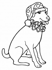 Bedtime Coloring Pages Picture 1 – Dogs and Puppies Coloring Pages ...
