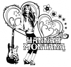 Free Printable Disney Coloring Pages | Hannah Montana Coloring ...