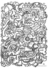 cool stuff coloring pages