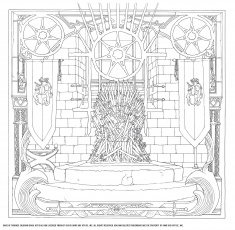 HBO's Game of Thrones Coloring Book: (Game of Thrones ...