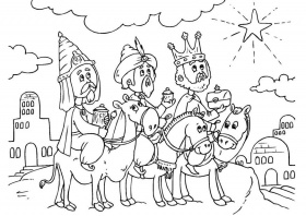 Free Epiphany Coloring Pages : Coloring Kids – Free Printable