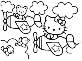 Hello Kitty Coloring Games Online Children Coloring Pages Kids